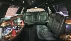 Black limo interior for limo serivce riverside ca
